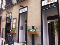 Barrio de las letras. Madrid. tienda de pan